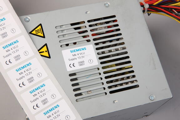 high temp label - Siemens